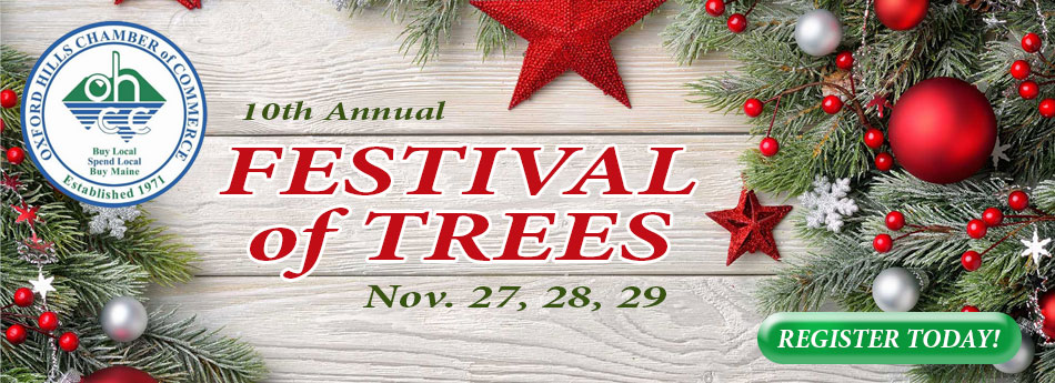 Oxford Hills Chamber of Commerce - Festival of Trees